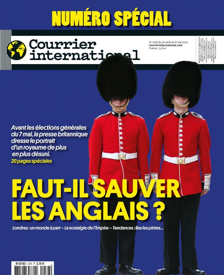 Courrier International - Numéro spécial, faut-il sauver les anglais ?