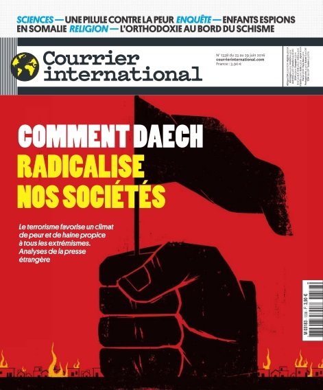 Courrier International - Comment Daech radicalise nos sociétés