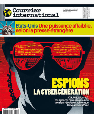 Courrier International - Espions, la cybergénération
