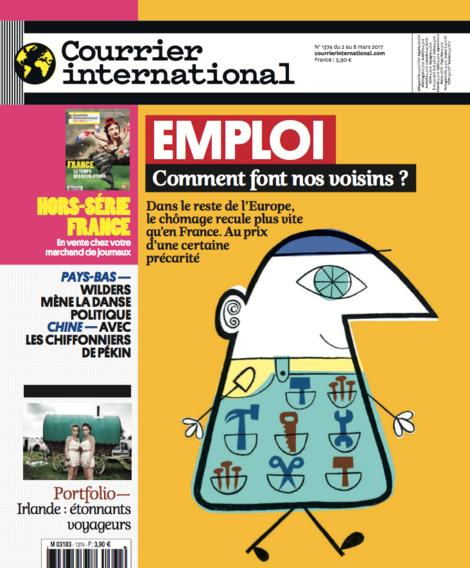 Courrier International - Emploi, comment font nos voisins ?