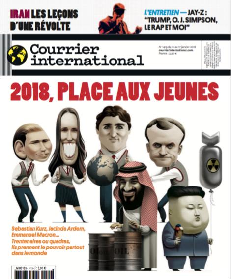 Courrier International - 2018, place aux jeunes