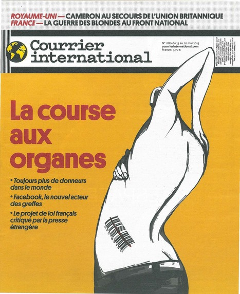 Courrier International - La course aux organes