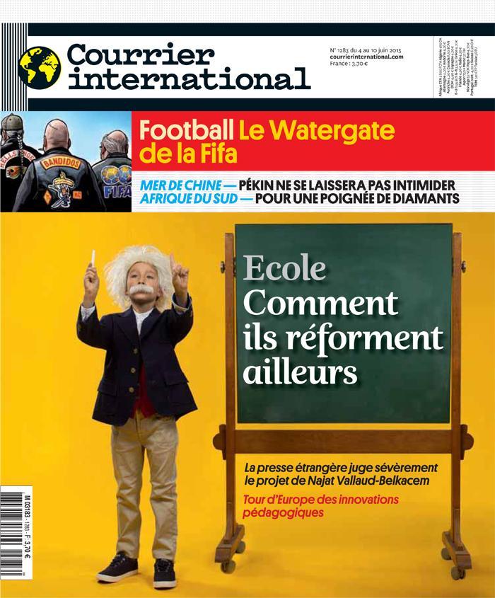 Courrier International - Ecole : comment ils réforment ailleurs