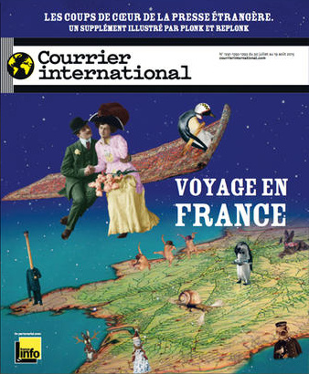 Courrier International - Supplément : Voyage en France