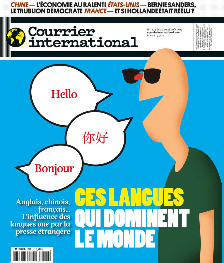 Courrier International - Ces langues qui dominent le monde