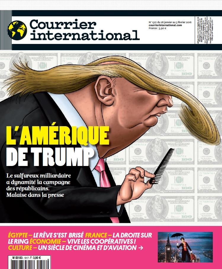 Courrier International - L'Amérique de Trump