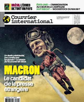 Courrier International - Macron, le candidat de la presse étrangère