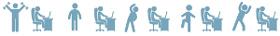 Éviter la position assise prolongée