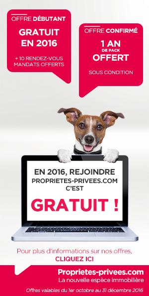Propriétés Privées - offre spéciale 2016