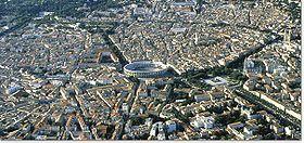 Nîmes, Centre ville