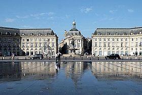 Place de la Bourse et le miroir d'eau - Bordeaux