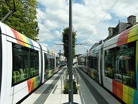 Angers - Tramway - Avrillé
