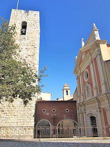 Saint-Esprit et campanile cathédrale - Antibes