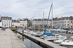 Port de Vannes quai Eric Tabarly