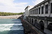 Centrale hydroelectrique Cusset
