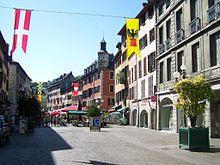 Chambéry - Place St-Léger