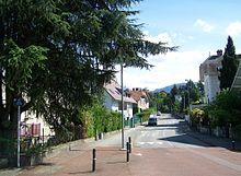 Chemin de Montjay Chambéry