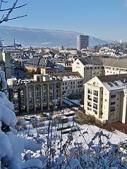 Neige à Chambéry