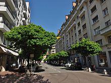 Rue Favre, Chambéry