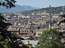 Toits centre ancien Chambéry