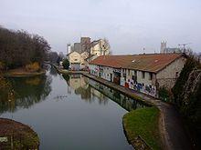 Meaux Canal de l'Ourcq