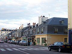 Versailles Vue du carré Saint-Louis