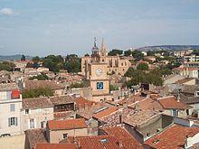 Salon de Provence Vue depuis le chateau de l'Emperi
